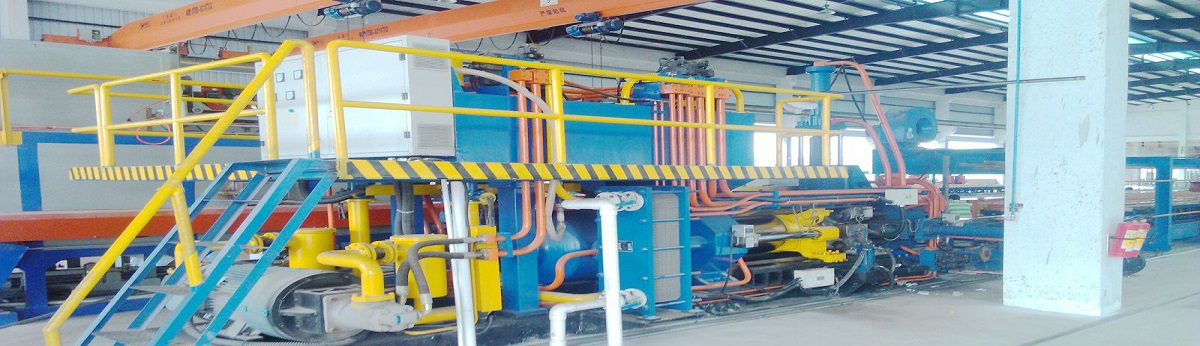 Aluminum extrusion production line