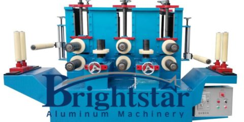 Big five group aluminum profile correcting machine