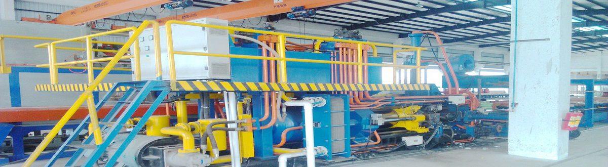 Aluminum extrusion machinery