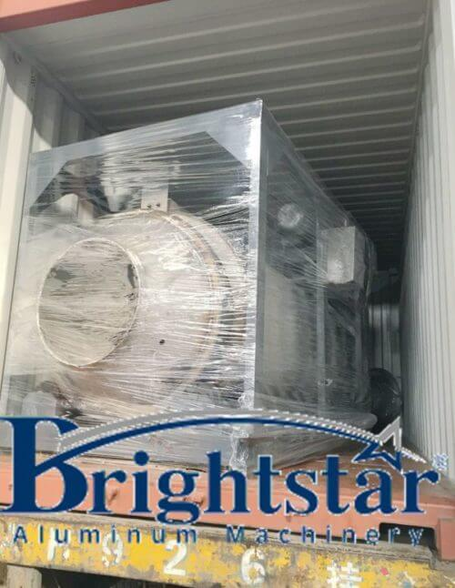 Thailand customer aluminium dross cooling machine delivery   Alumachine