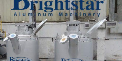 Liquid aluminium transfer ladle